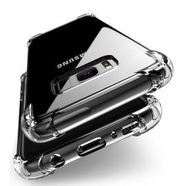 Vaku ® Samsung Galaxy J7 Pro PureView Series Anti-Drop 4-Corner 360° Protection Full Transparent TPU Back Cover Transparent
