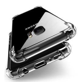 Vaku ® Samsung Galaxy C9 Pro PureView Series Anti-Drop 4-Corner 360° Protection Full Transparent TPU Back Cover Transparent