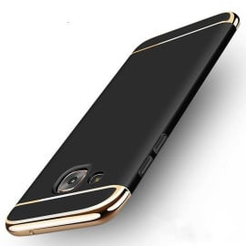 Vaku ® Samsung Galaxy A7 (2016) Ling Series Ultra-thin Metal Electroplating Splicing PC Back Cover