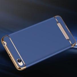 Vaku ® Xiaomi Redmi 4A Ling Series Ultra-thin Metal Electroplating Splicing PC Back Cover
