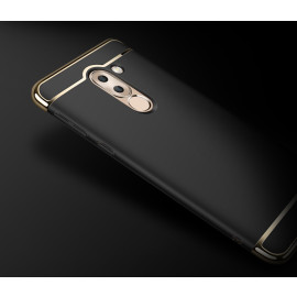 Vaku ® Huawei Honor 6X Ling Series Ultra-thin Metal Electroplating Splicing PC Back Cover