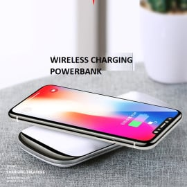 Joyroom ® Wire-less Charging PowerBank ABS Body With Digital Display High Power 10,000 mAh Dual-USB Output Power Bank
