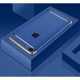 Vaku ® Vivo V7 Plus Ling Series Ultra-thin Metal Electroplating Splicing PC Back Cover
