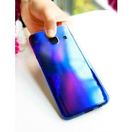Vaku ® Samsung Galaxy J7 Prime / J7 Prime 2 Infinity Series with UV Colour Shine Transparent Full Display PC Back Cover