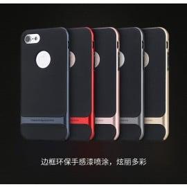 Rock ® Apple iPhone 7 Plus / 8 Plus Royle Case Ultra-thin Dual Metal Soft / Silicon Case