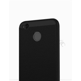 Vaku ® Google Pixel 2 XL Perforated Series Heat Dissipation Ultra-Thin PC Back Cover Black