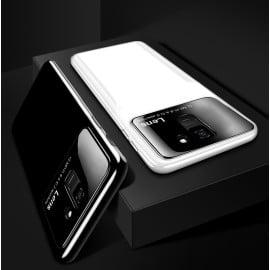 Vaku ® Samsung Galaxy J6 2018 Polarized Glass Glossy Edition PC 4 Frames + Ultra-Thin Case Back Cover