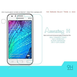 Dr. Vaku ® Samsung Galaxy Trend II Duos Ultra-thin 0.2mm 2.5D Curved Edge Tempered Glass Screen Protector Transparent