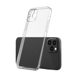 VAKU ® Compatible For iPhone 12 Pro Camera Lens Silicon Protection Transparent TPU Back Cover