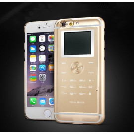 X-Fon ® Apple iPhone 6 / 6S Ultra Slim Dual-Sim Mobile Phone with inbuilt Rechargeable Battery Back Cover