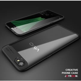 Vaku ® VIVO Y55s / Y55L Kowloon Series Top Quality Soft Silicone 4 Frames + Ultra-Thin Transparent Cover