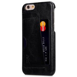 Vetti Craft ® Apple iPhone 6 / 6S Royal Genuine Leather Snap Back Cover