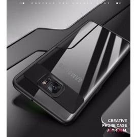 Vaku ® Samsung S6 Edge Plus Kowloon Series Top Quality Soft Silicone  4 Frames plus ultra-thin case transparent cover