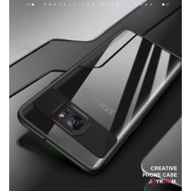 Vaku ® Samsung A9 PRO Kowloon Series Top Quality Soft Silicone  4 Frames plus ultra-thin case transparent cover