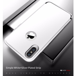 DUZHI ® Apple iPhone XS Lingo Series Ultra-thin Metal Electroplating Splicing PC Back Cover