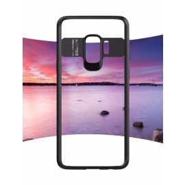 Vaku ® Samsung Galaxy S9 Kowloon Series Top Quality Soft Silicone 4 Frames + Ultra-Thin Transparent Back Cover