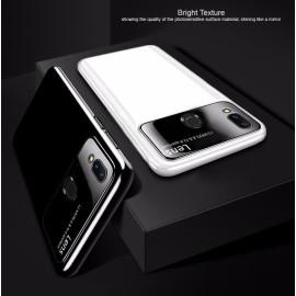 Vaku ® Samsung Galaxy M20 Polarized Glass Glossy Edition PC 4 Frames + Ultra-Thin Case Back Cover