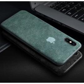 Vaku ® Apple iPhone X / XS Pure Alcantara leather Case