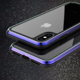 Vaku ® For Apple iPhone XS Max Anti-Drop Aluminum Defense Shield Cover