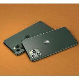 Vaku ® Apple iPhone 11 Pro 1:1 Logo Chrome Line Back Cover
