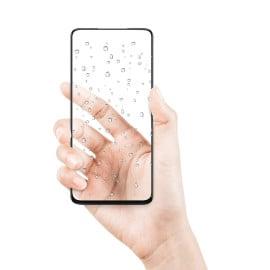 Dr. Vaku ® Oneplus 8T Full Edge-to-Edge Ultra-Strong Ultra-Clear Full Screen Tempered Glass- Black