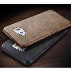 Usams ® Samsung Galaxy S6 Edge Ultra-thin Elegant Grained Leather Case Back Cover