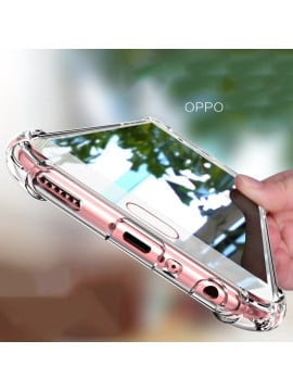 Vaku ® Oppo A57 PureView Series Anti-Drop 4-Corner 360° Protection Full Transparent TPU Back Cover Transparent