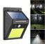VAKU ® Outdoor Solar Light with PIR (Passive Infrared Sensor) Motion Sensor