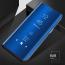Vaku ® Redmi Note 8 Mate Smart Awakening Mirror Folio Metal Electroplated PC Flip Cover