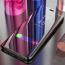 Vaku ® Vivo S1 / Z1 Pro Mate Smart Awakening Mirror Folio Metal Electroplated PC Flip Cover
