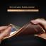 Vaku ® Xiaomi CC9e Vertical Leather Stitched Gold Electroplated Soft TPU Back Cover